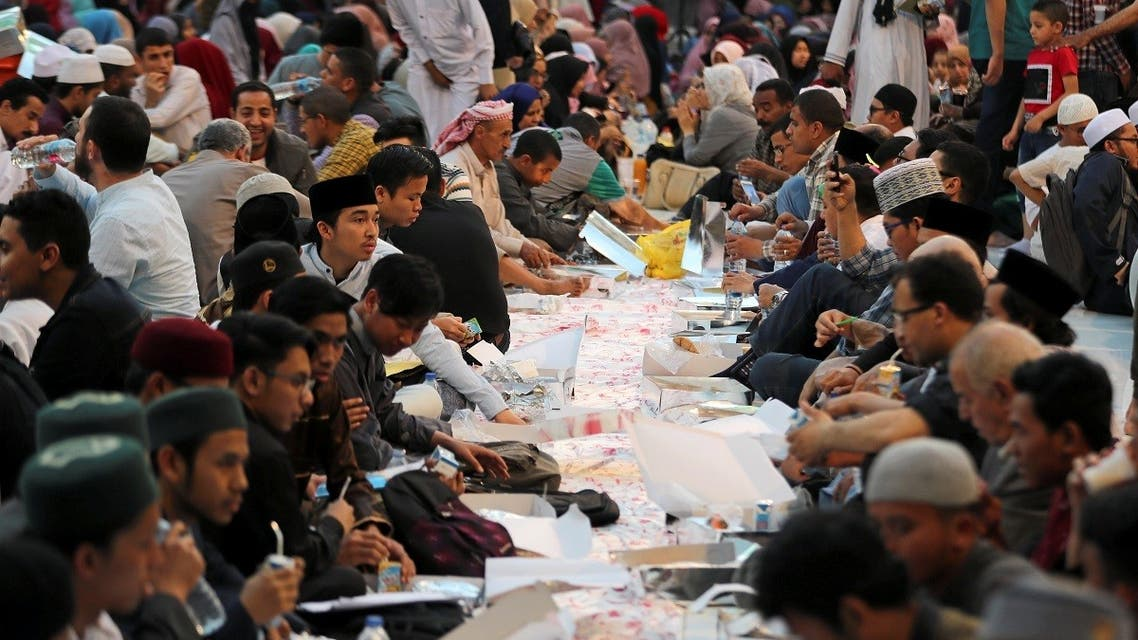 The ministry also noted it had previously decided to prohibit the establishment of iftar tables, a tradition Muslims take part in to provide food for the poor during the holy month, in the vicinity of mosques or their surrounding space. (Reuters)