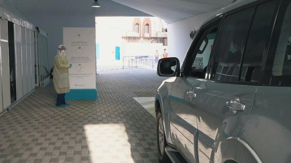 DHA self-drive test center. DUBAI MEDIA OFFICE