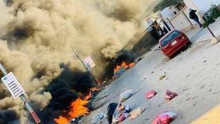 شاهد.. جريمة قتل تثير احتجاجات ضدّ الميليشيات في طرابلس