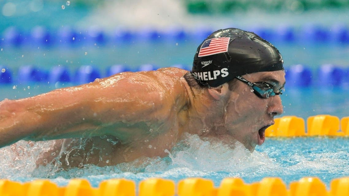 Michael Phelps of the U.S. competes in his men's 200m butterfly swimming final at the National Aquatics Center during the Beijing 2008 Olympic Games. (File photo: Reuters)