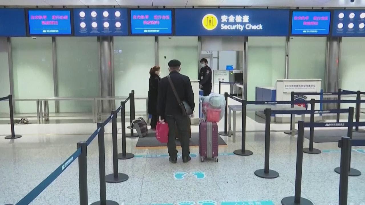 الصين تفتح مطار ووهان