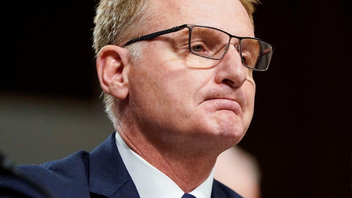 File photo of Acting Secretary of the Navy Thomas Modly. (Reuters)_150236184_RC2WZF9QUZKV_RTRMADP_3_HEALTH-CORONAVIRUS-USA-NAVY