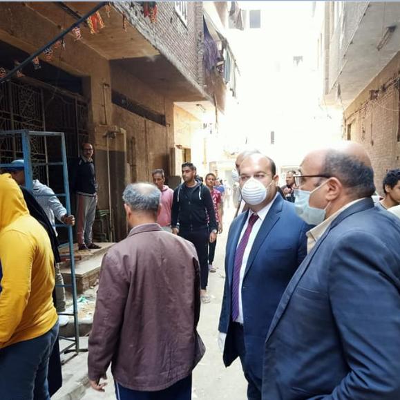 تفاصيل أول يوم حجر صحي لقرية مصرية بسبب كورونا