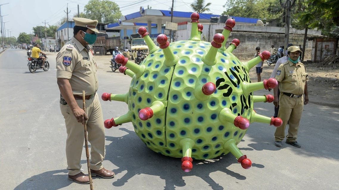 India coronavirus car