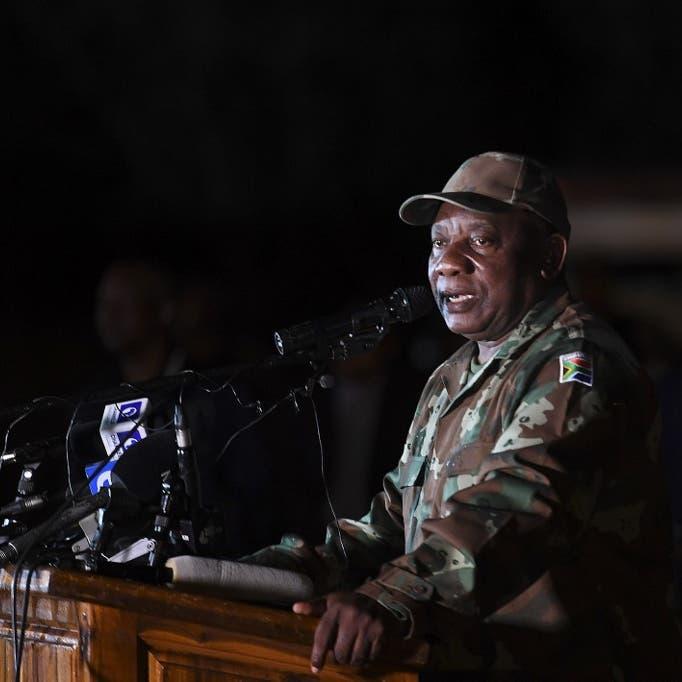 تناولت الغداء بالخارج.. رئيس جنوب إفريقيا يعاقب وزيرة