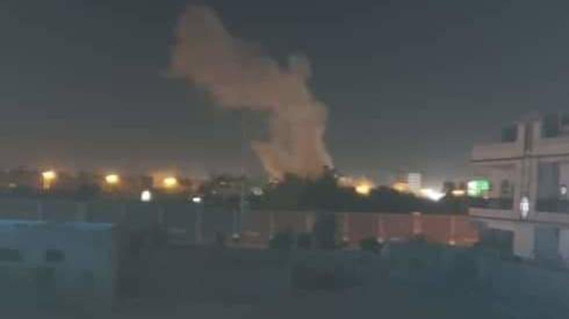 سقوط-صاروخ-في-مأرب