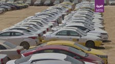 Watch: Thousands of cars impounded in Jordan after coronavirus curfew violations
