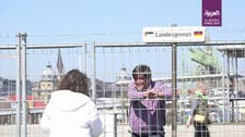 Coronavirus divides lovers, friends at border fences between Germany and Switzerland