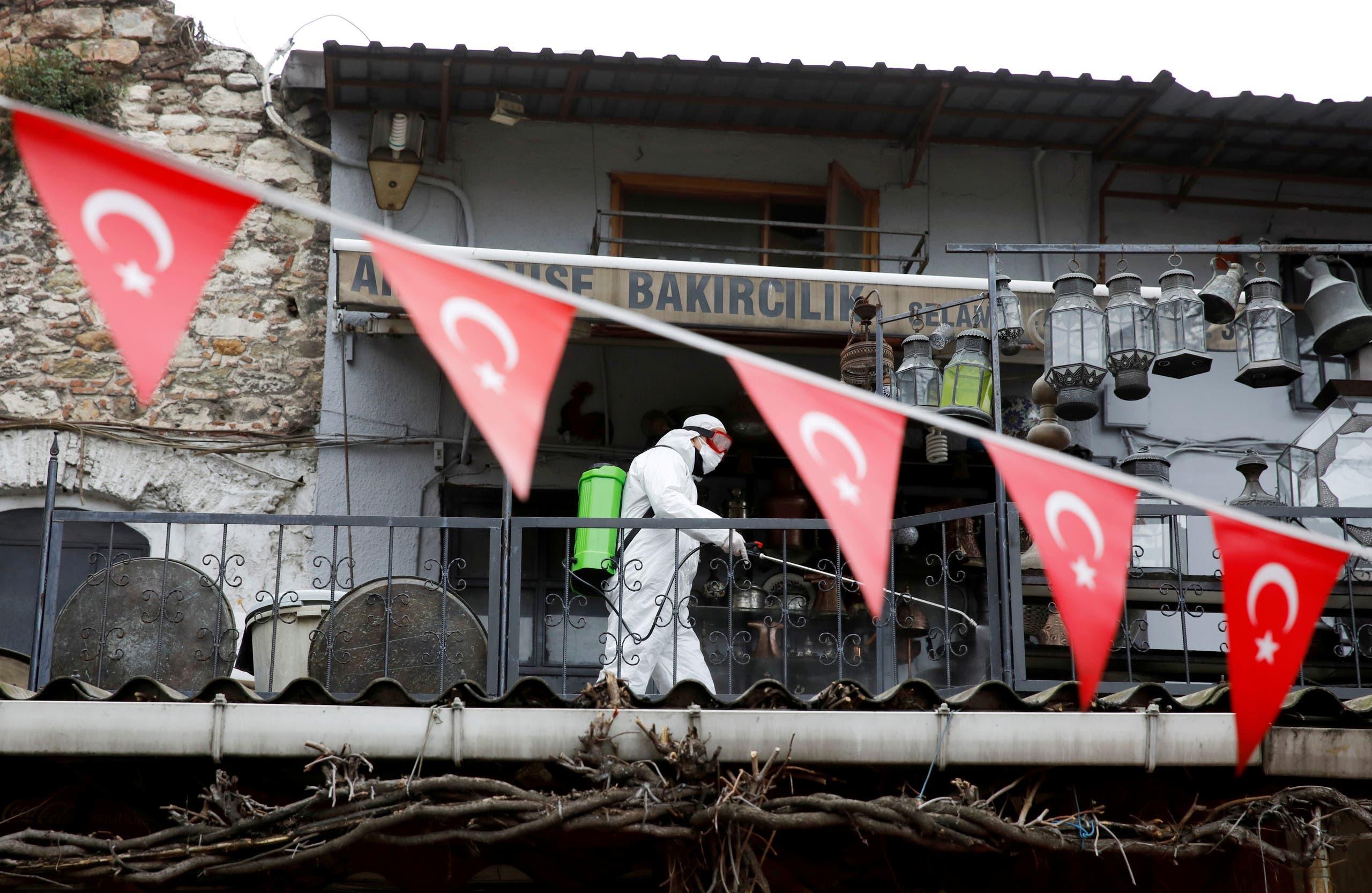 كورونا من تركيا