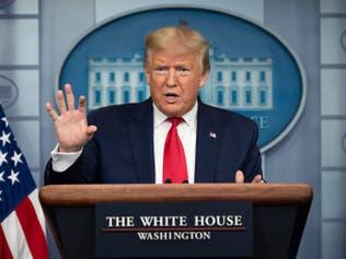 الرئيس الأميركي: منحنى وباء كورونا يتراجع