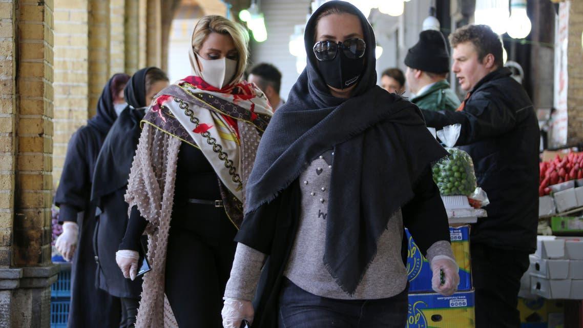 كورونا إيران