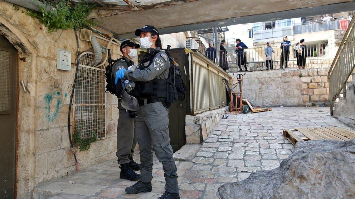عناصر من الشرطة الإسرائيلية في القدس المحتلة