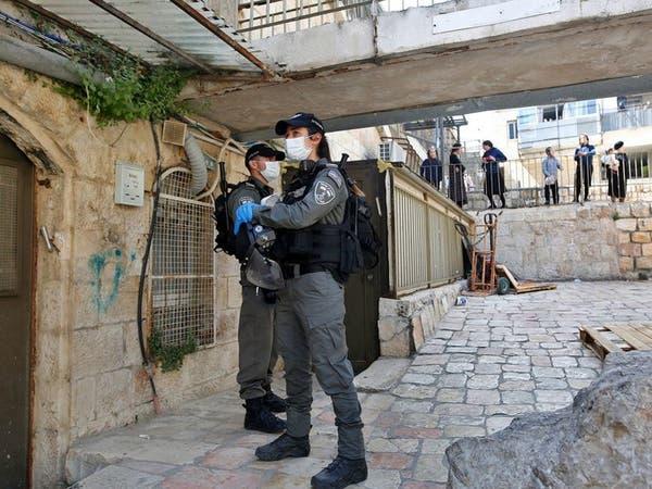 شاهد لحظة دهس وطعن فلسطيني لجندي إسرائيلي