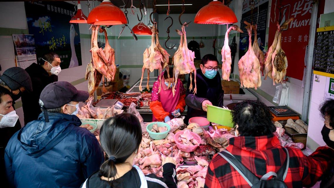 أسواق لحوم الحيةانات البرية - الصين