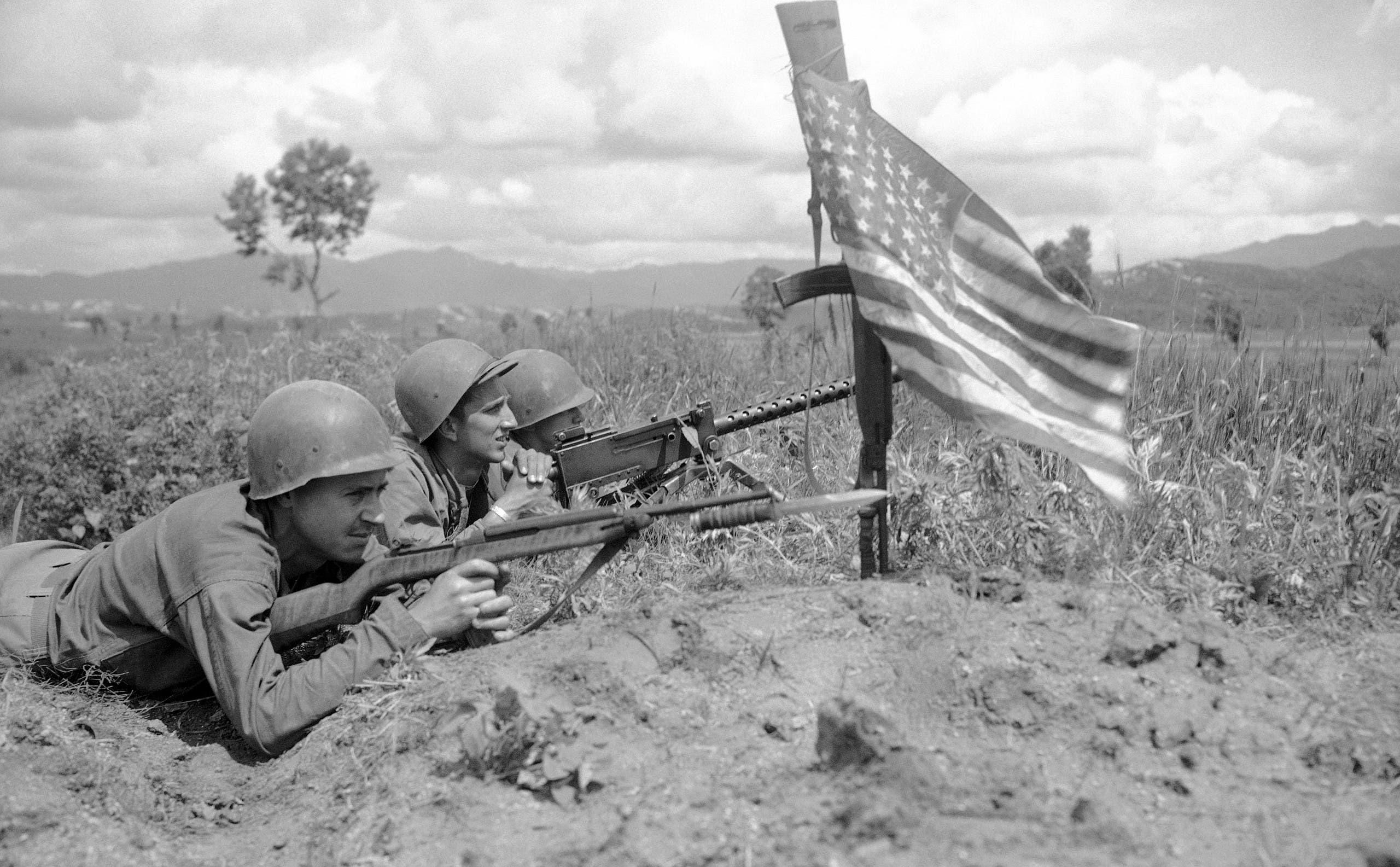 جنود أميركيون شاركوا بالحرب الكورية بالقرن الماضي