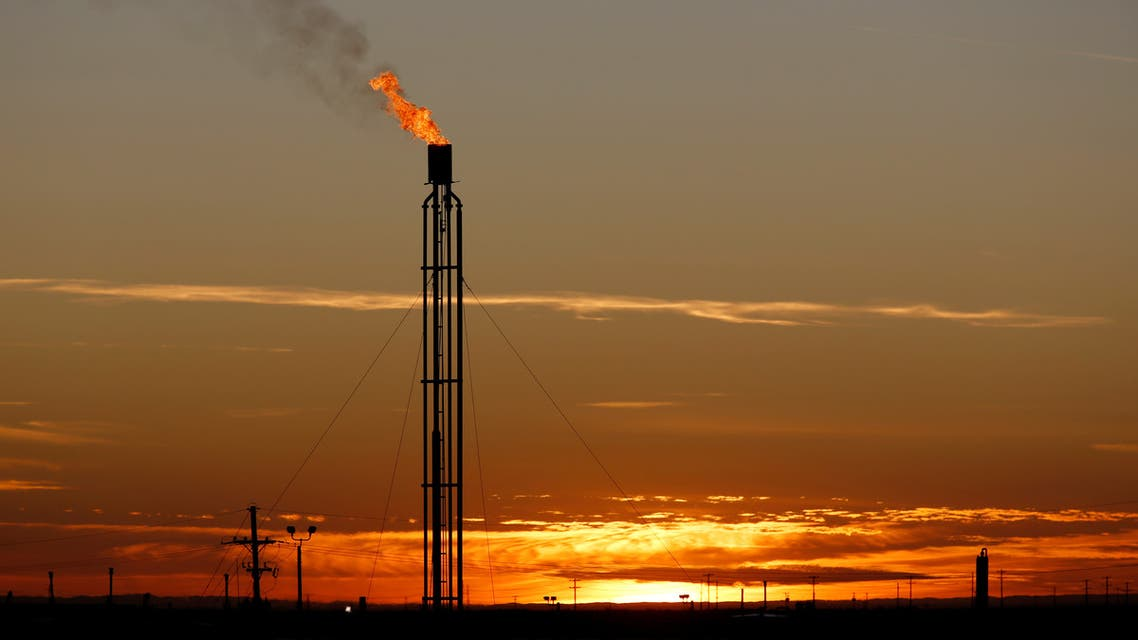 A flare burns excess natural gas in the Permian Basin in Loving County, Texas, US. (File photo: Reuters)