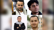 Yemen's Houthis sentence four journalists to death