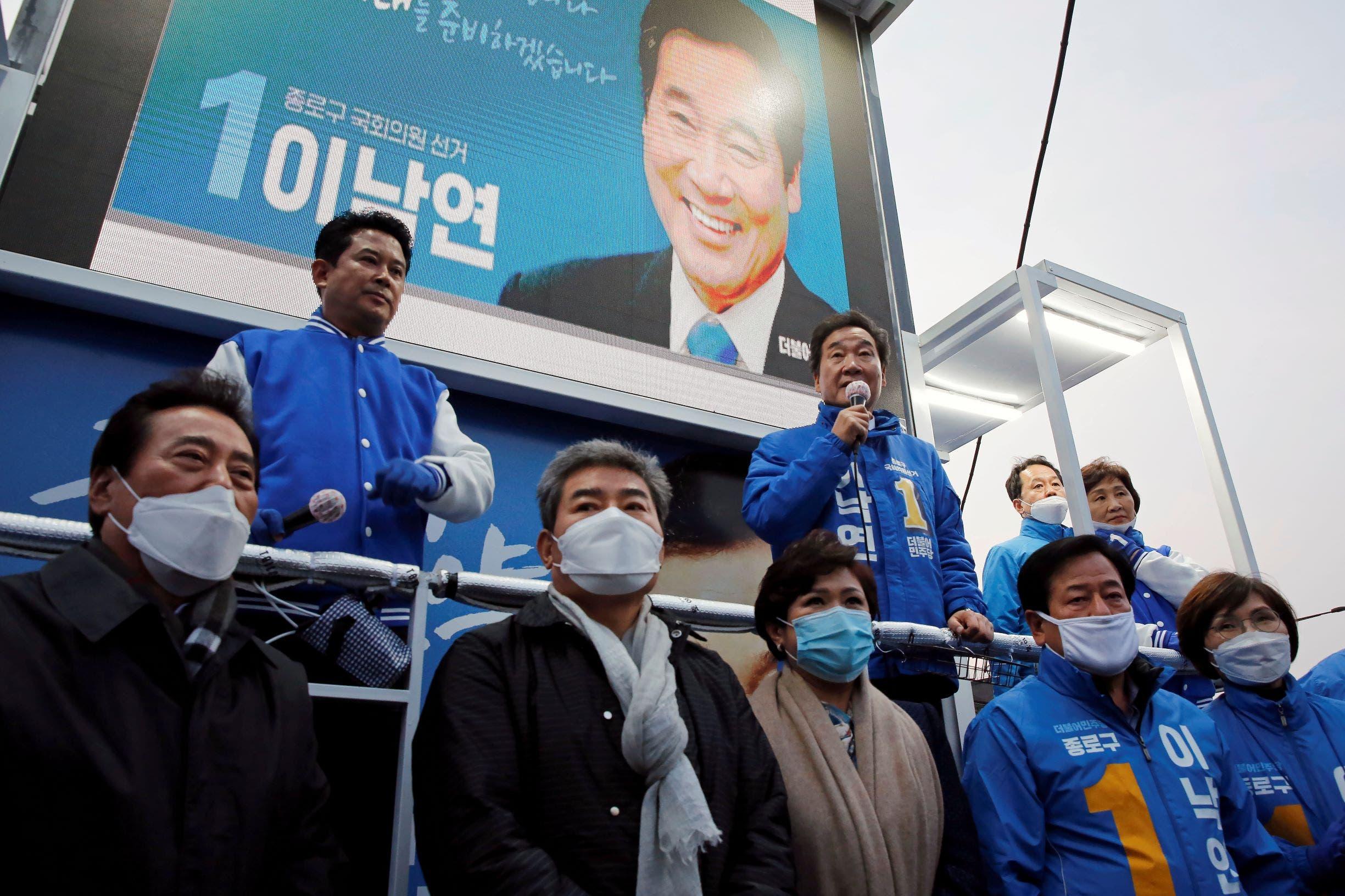 من كوريا الجنوبية (رويترز)