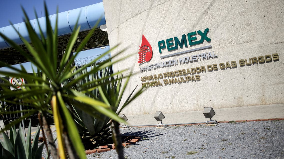 The logo of Mexican state-owned oil company Pemex. (File photo: Reuters)