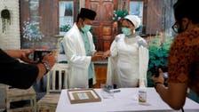 محبت وباء پر بھاری: کرونا کے جلو میں شادی، آن لائن باراتی خوشی میں شریک ہوئے