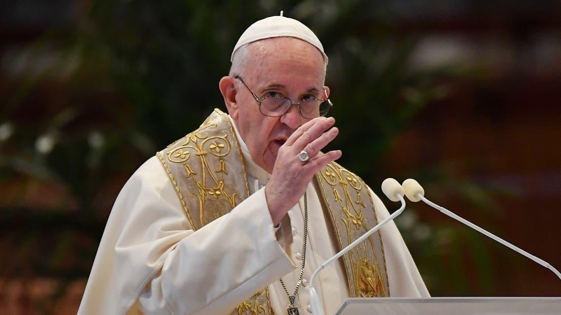 Pope Francis Easter Sunday Coronavirus