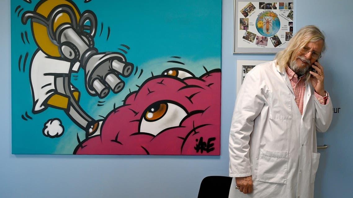 الطبيب الفرنسي ديدييه راوول(أرشيفية- فرانس برس)