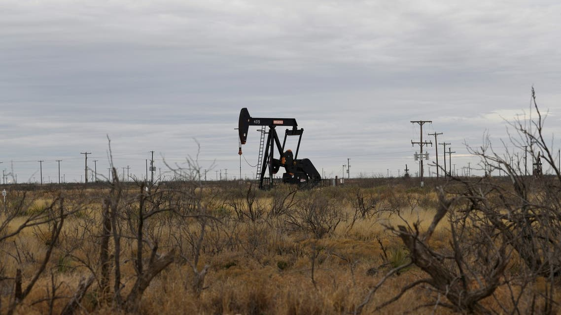 A pump jack operates in the Permian Basin oil and gas production area, Texas, US. (File photo: Reuters)