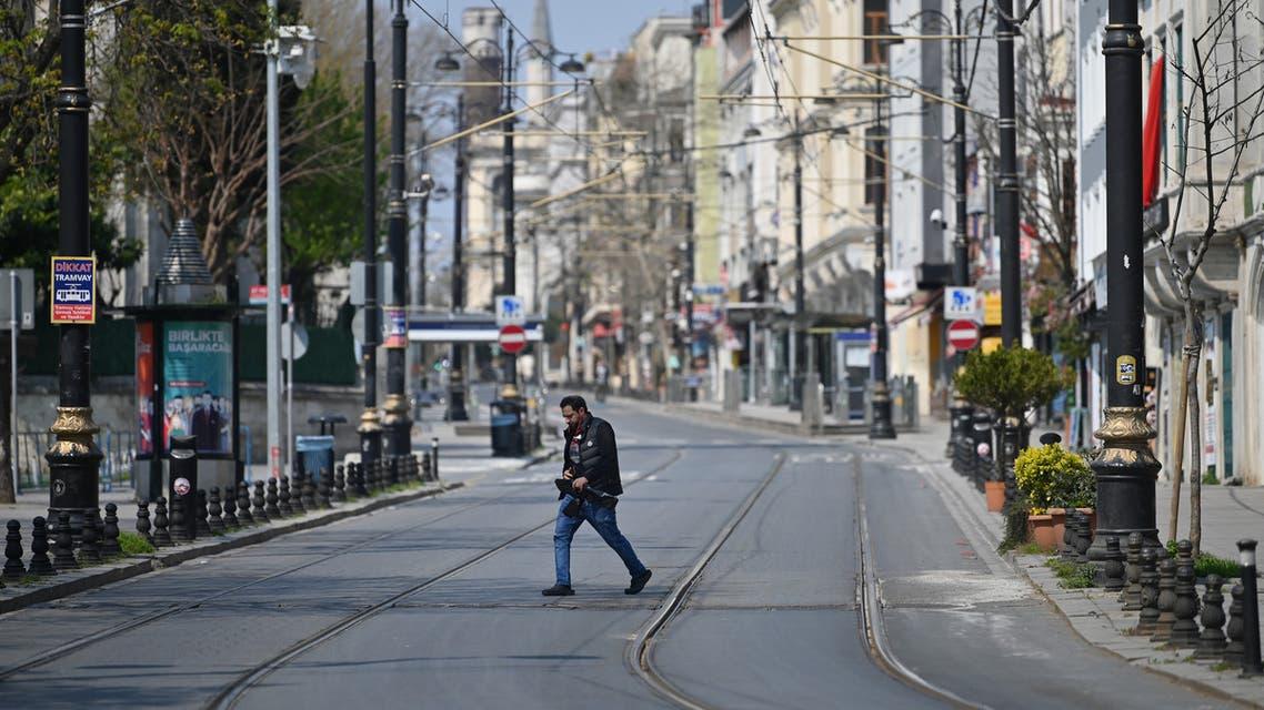 من اسطنبول (11 أبريل 2020- فرانس برس)