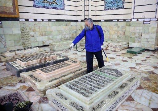 ضحايا كورونا في إيران