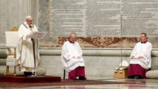 Coronavirus: 'Be messengers of life in a time of death,' pope says on Easter eve