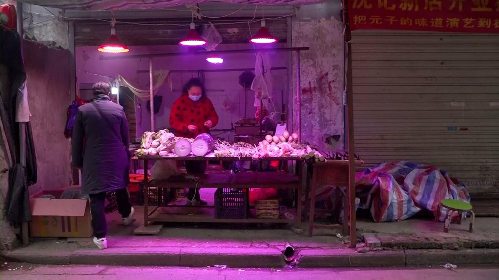 Wuhan's wet markets struggle to survive coronavirus blow (File photo)