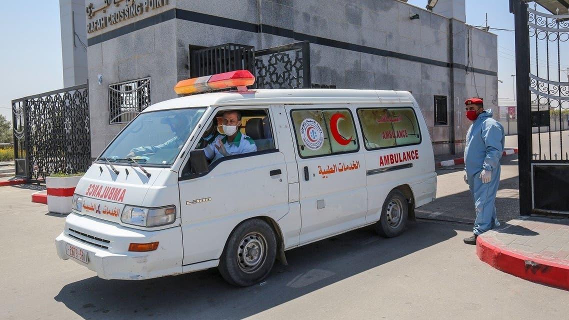 Rafah border crossing coronavirus