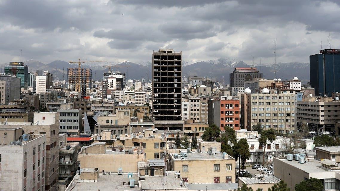 General view of Tehran city, following the outbreak of coronavirus. (Reuters)