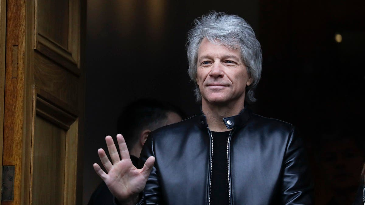 Musician Jon Bon Jovi will be performing during the show. (File photo: AP)