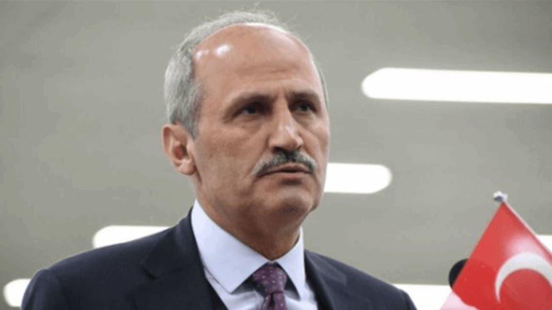 وزير النقل التركي