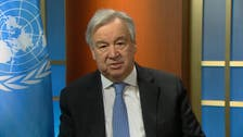 UN chief:  World faces misinformation epidemic about coronavirus