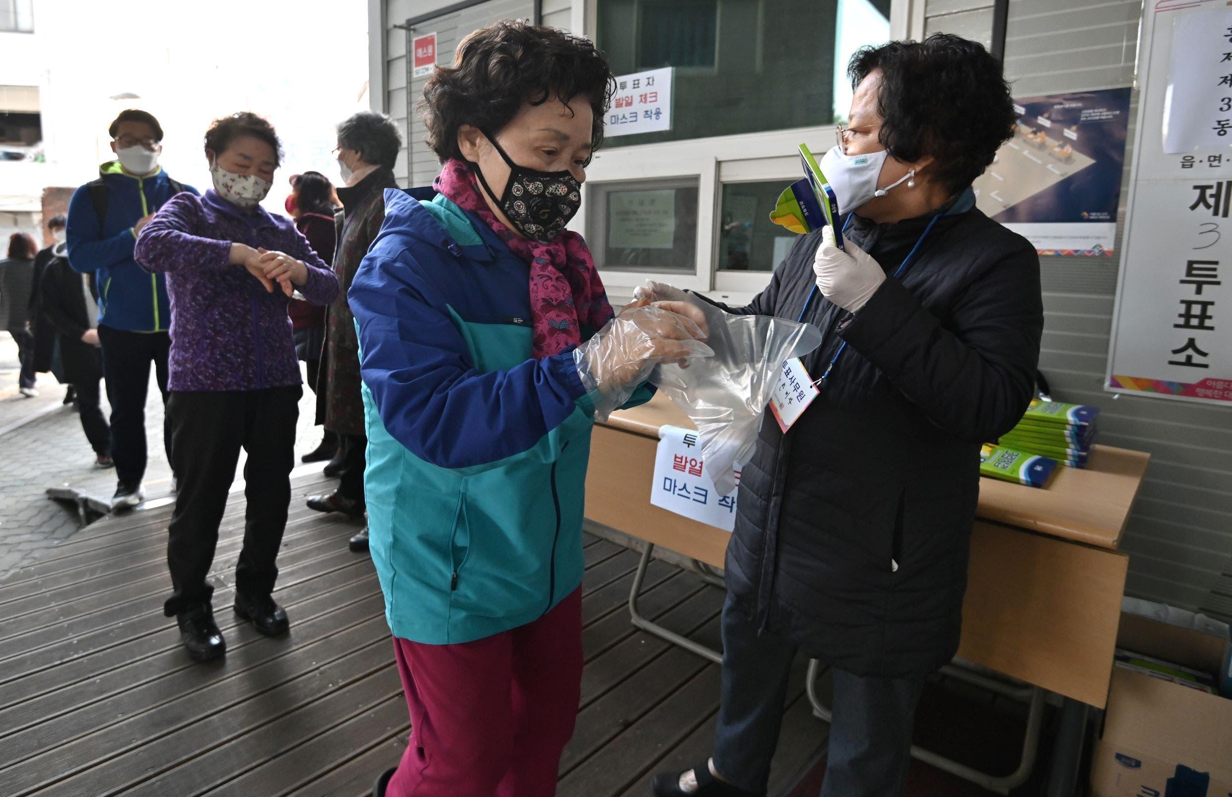 انتخابات في كوريا الجنوبية (فرانس برس)