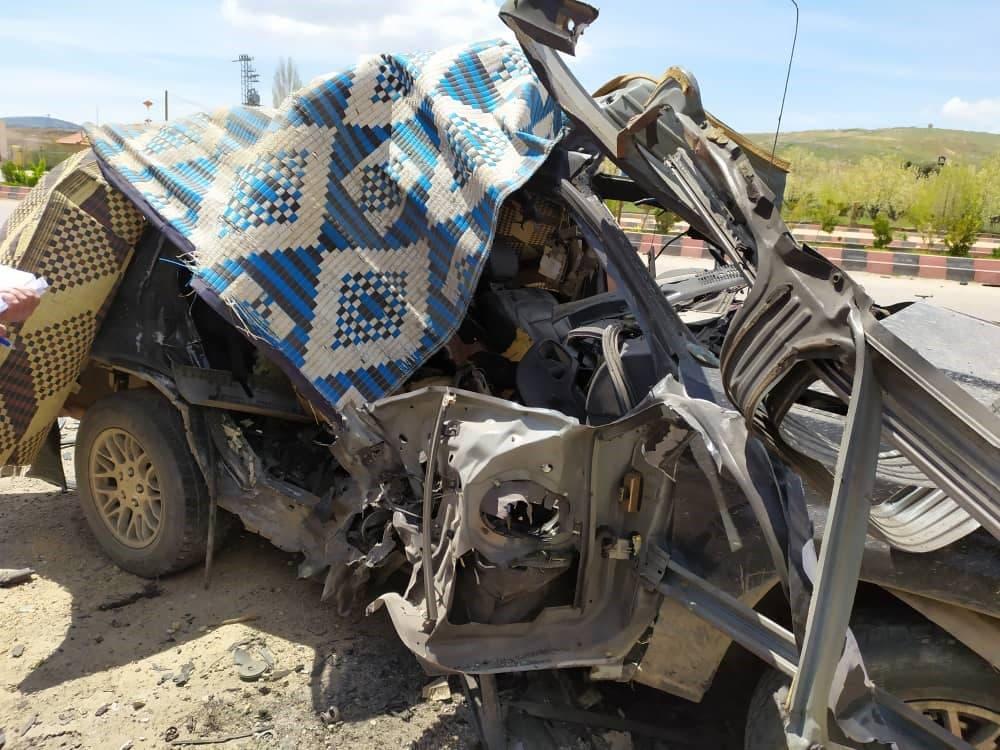 استهداف سيارة لحزب الله في جديدة يابوس ب سوريا