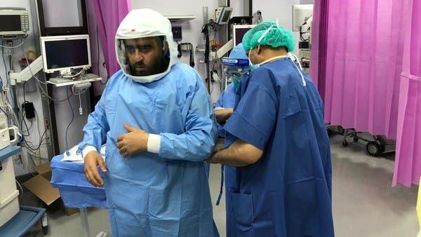 السعودية.. العربية.نت داخل غرفة عمليات المصابين بكورونا