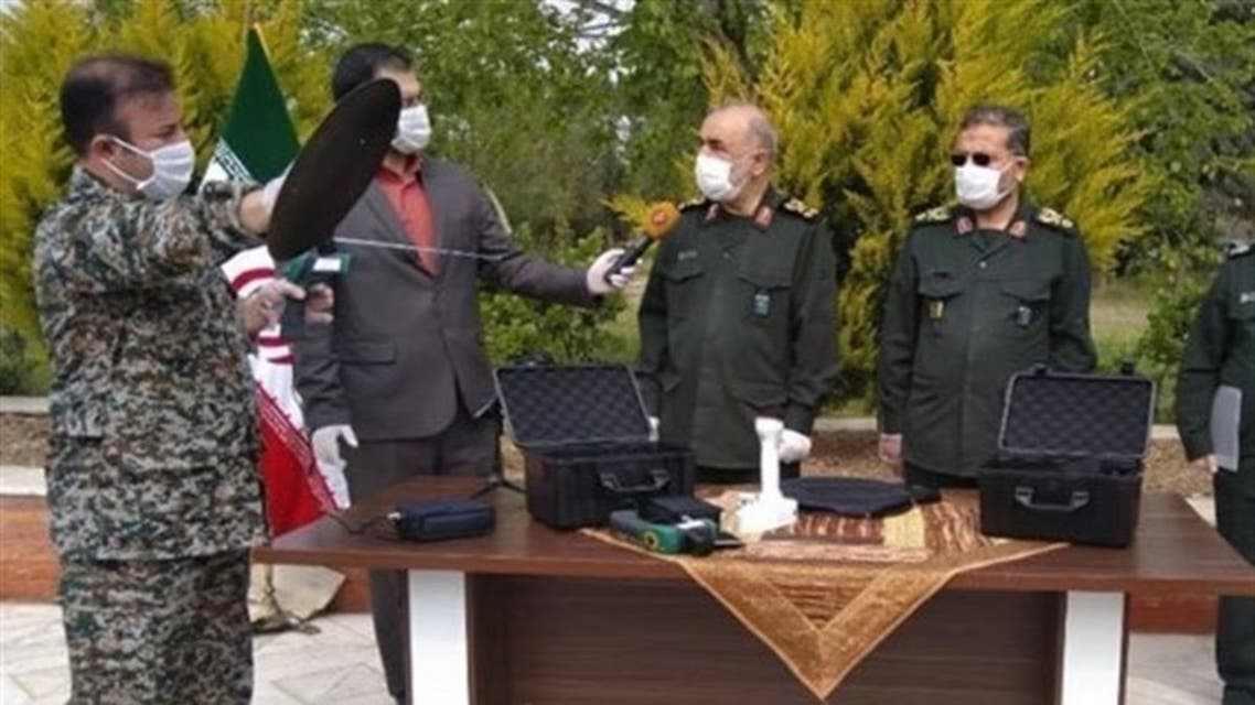 A new device that allegedly detects coronavirus is unveiled in Iran. (Twitter)