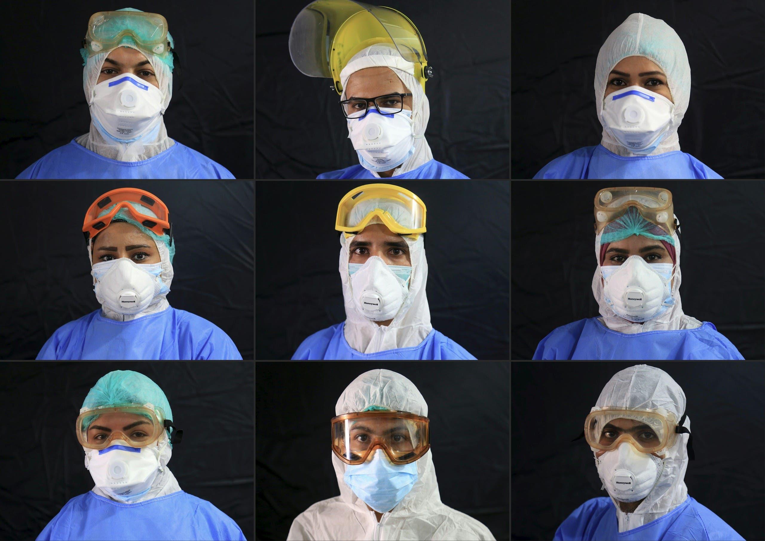 أفراد من الطاقم الطبي
