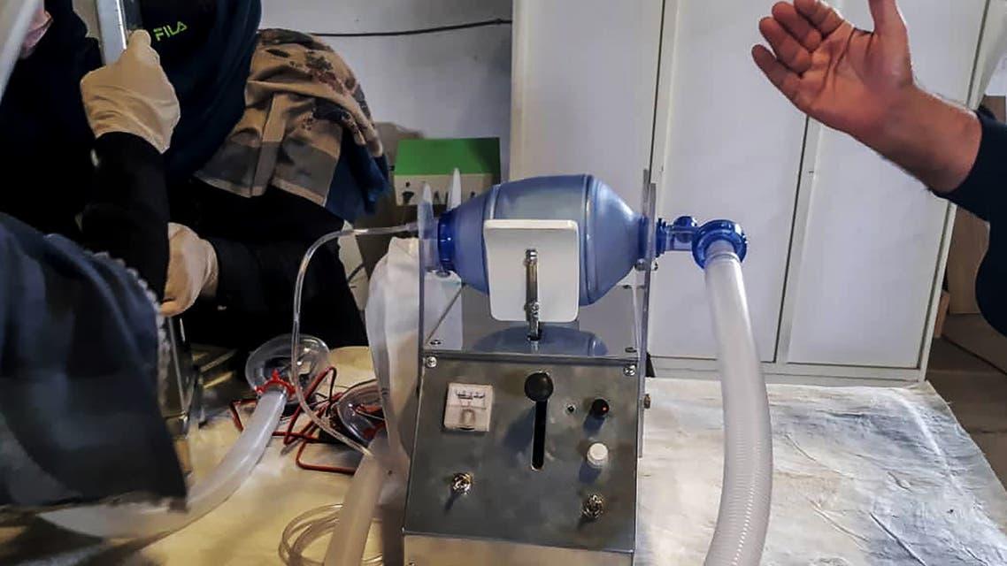 أفغانيات يطوّرن جهاز تنفس اصطناعي باستخدام قطع سيارات