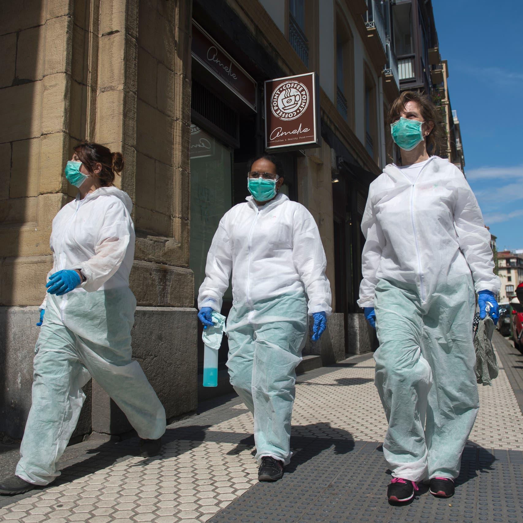 معظمهم بأوروبا وأميركا..أكثر من 2.5 مليون إصابة بكورونا