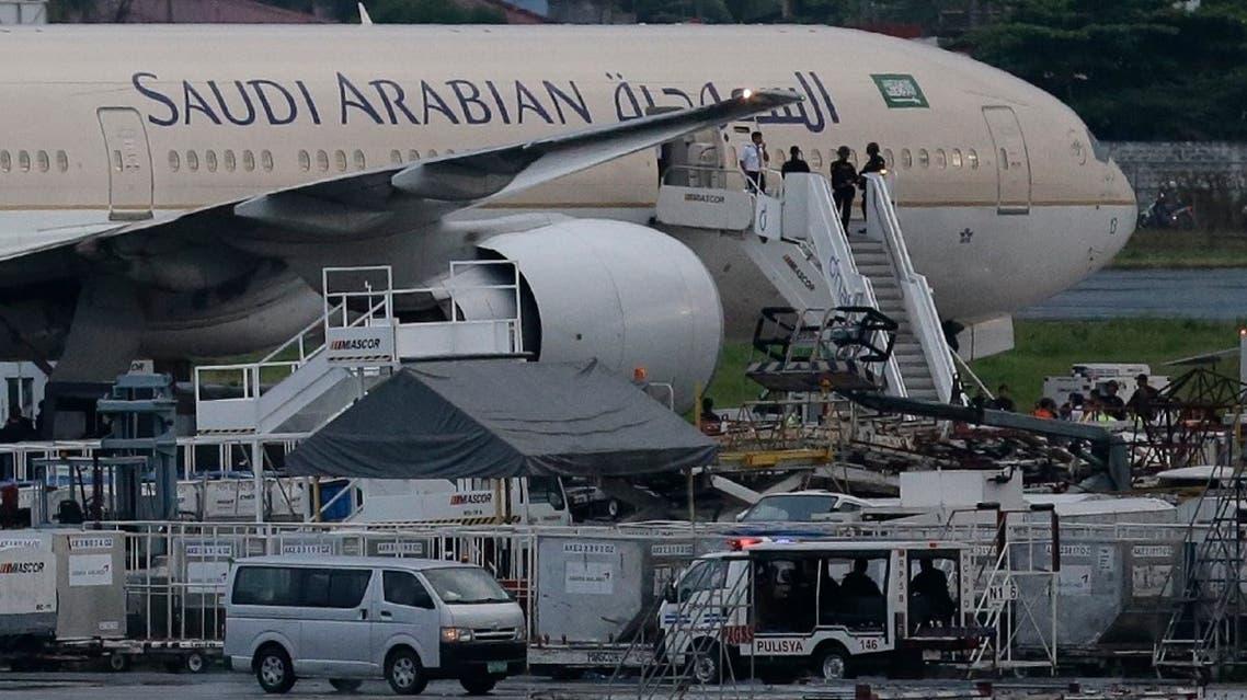Saudi Arabian Airlines plane. (File photo: AP)