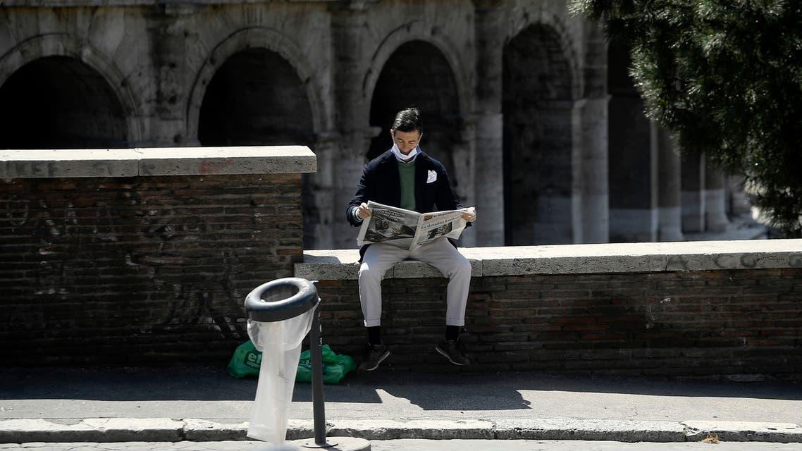 من روما (16 أبريل 2020 - فرانس برس)