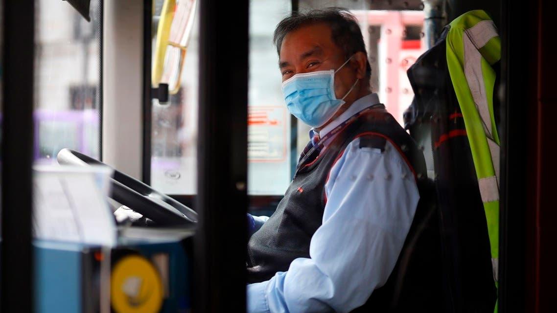 London bus - AFP