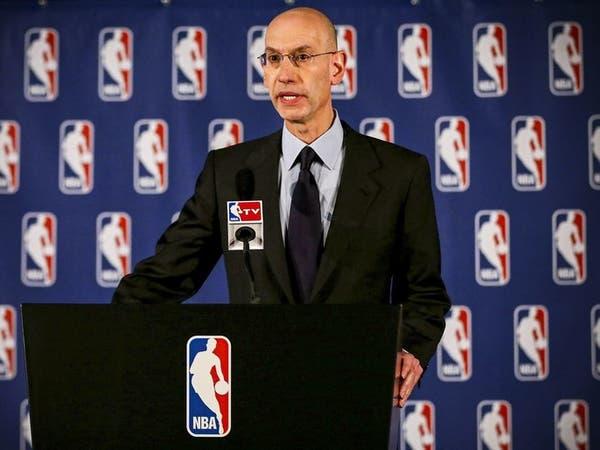 مفوض دوري السلة الأميركي لا يعلم موعد استئناف المسابفة