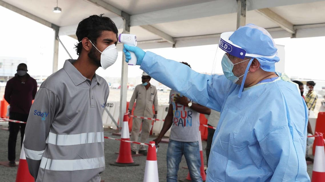Abu Dhabi establishes two new COVID-19 testing facilities for workers at the Musafah industrial areas. (WAM)