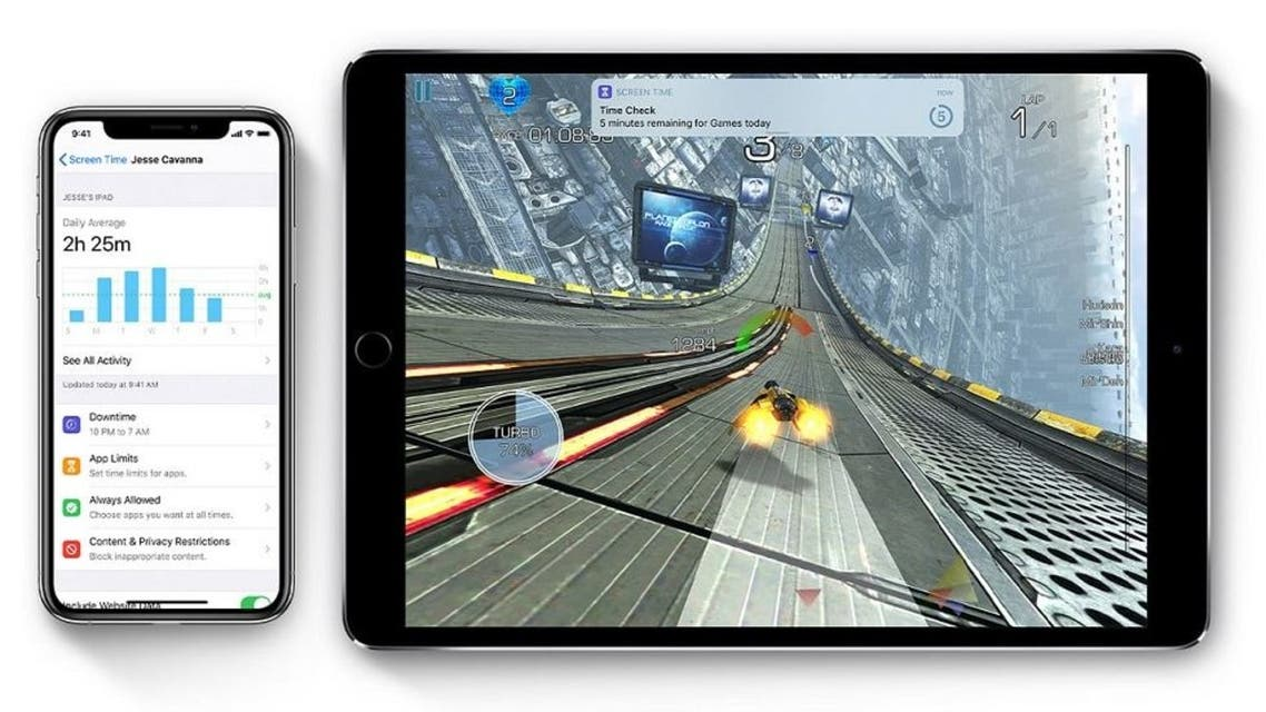ios13-ipad-pro-iphone-xs-screentime-hero