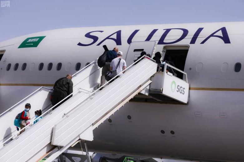 طائرة للخطوط السعودية (أرشيفية)